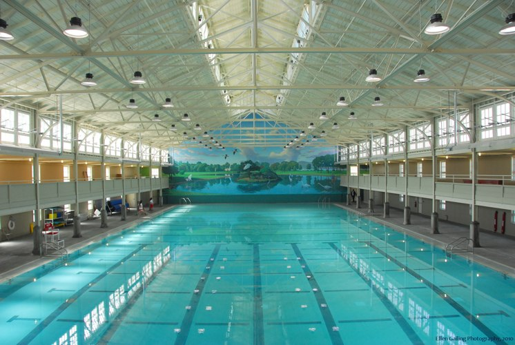 Oldest pool in bay area takes plunge to be greenest in for Pool design richmond va