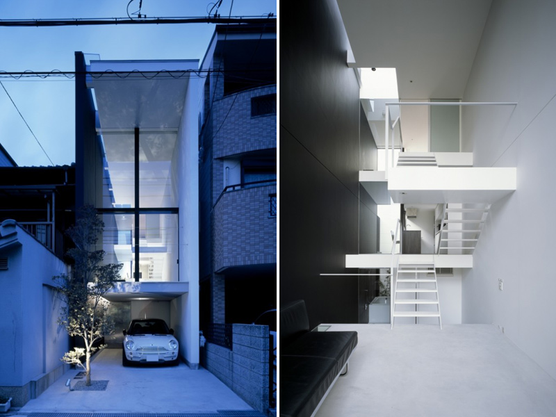 Amazing Japanese Micro House is Only Ten Feet Wide Inside