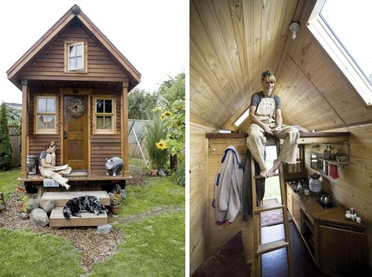 Small Space Living Tiny House Trend Grows Bigger Inhabitat
