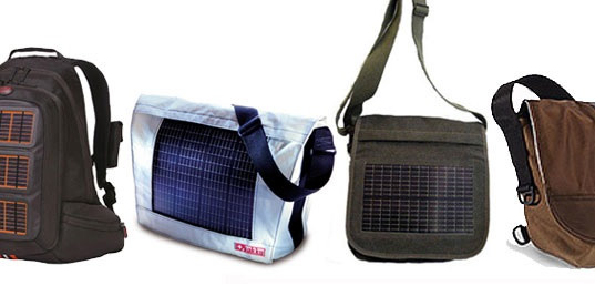 sustainable design, green design, solar powered bags, back to school, photovoltaic,