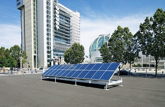 SunPods, sustainable design, green design, plug n go charging station, ev charger, solar power, renewable energy