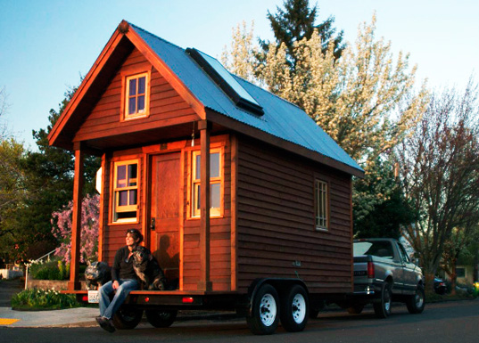 Sustainable colorado small space living tiny house trend for Small sustainable homes