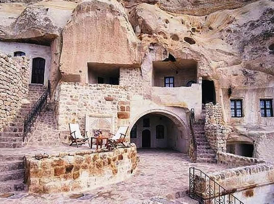 700 Year Old Underground Cave Homes For Rent in Iran, cave home, underground home, low energy living, green design, ancient home, eco design, sustainable design, sustainable architecture, green architecture, passive house, passive cooling, iran, ancient house, eco architecture, kandovan, desert home