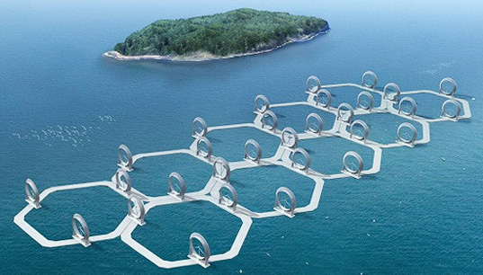 Honeycomb 'Wind Lens' Turbines Could Boost Energy Generation 3X