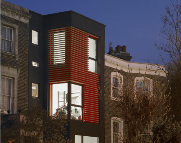 amenity space, urban infill, london, affordable housing, green building, sustainable architecture