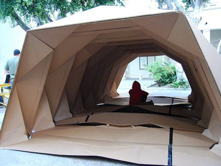 Architecture Student Designs Housing Shelter With Help Of