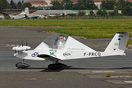 The Cri-Cri, the world's smallest electric plane, takes flight
