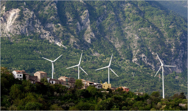 tocco, italy, wind, wind power, wind energy, renewable energy