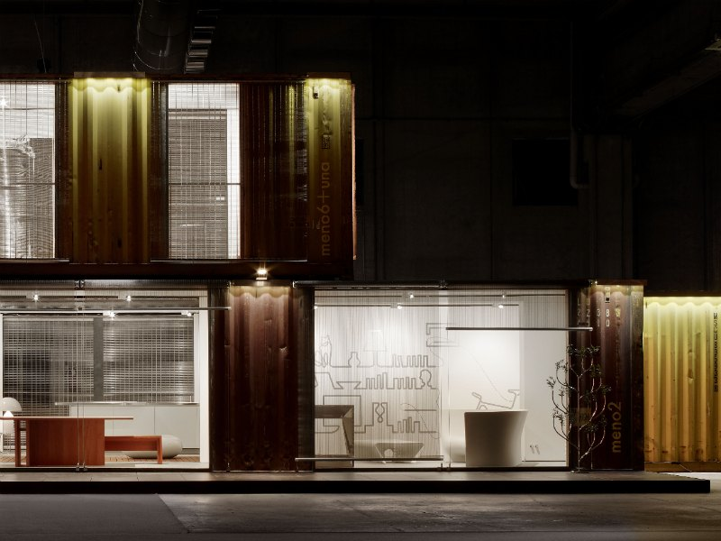 Italian Green Frame Home Explores Sustainable Container Housing