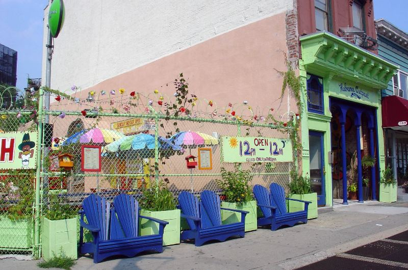 habana outpost, brooklyn, eco restaurant, eco eatery, solar power, green design, sustainable architecture