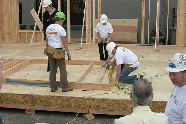 home depot and habitat for humanity, building affordable housing, affordable green housing, affordable sustainable housing, sustainable business initiatives, Partners in Sustainable Building, Home Depot Foundation