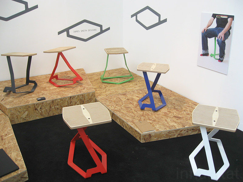 Kink 1 Balance Stool by James Smith_ « Inhabitat u2013 Green Design Innovation Architecture Green Building & Kink 1 Balance Stool by James Smith_ « Inhabitat u2013 Green Design ...