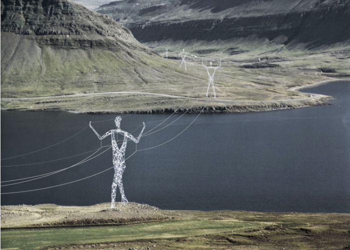 land of giants, choi + shine architects, transmission grid, transmission pylons, green design,
