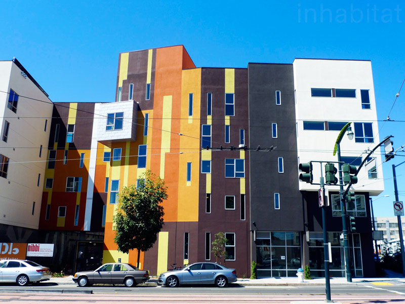 sustainable design, green design, david baker architects, san francisco, leed gold, Armstrong Senior Housing, social housing, social responsibility, hunter's point