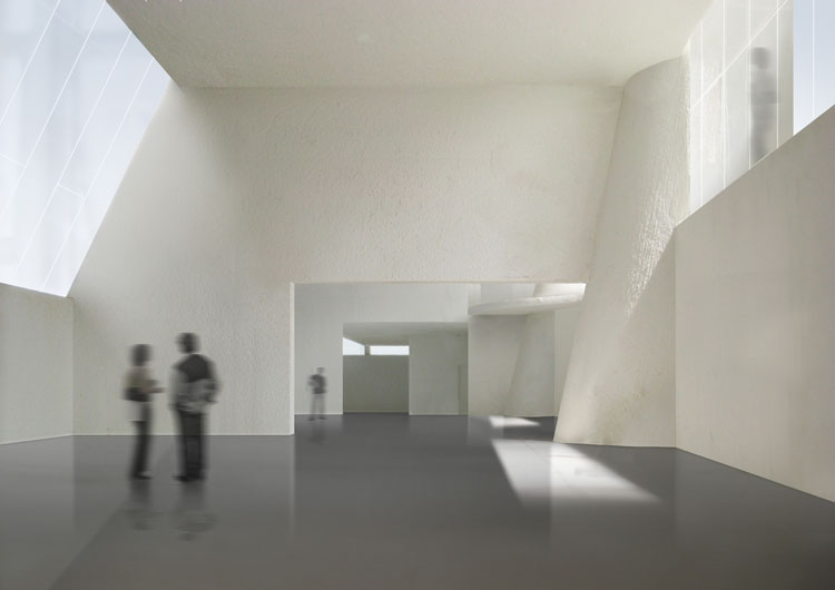 Steven holl unveils light filled glasgow school of art for Interior design agency glasgow