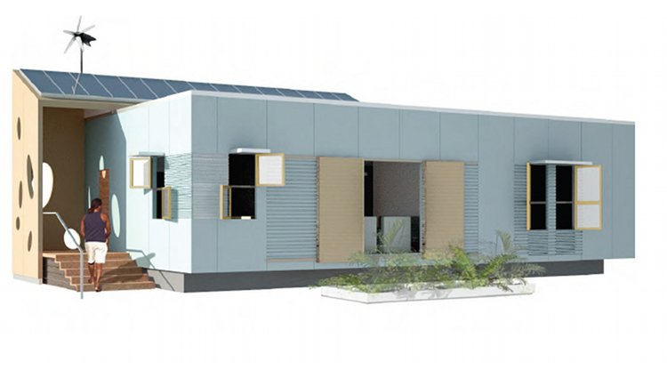 Emergency Housing Made From Structural Steel Insulated Panels