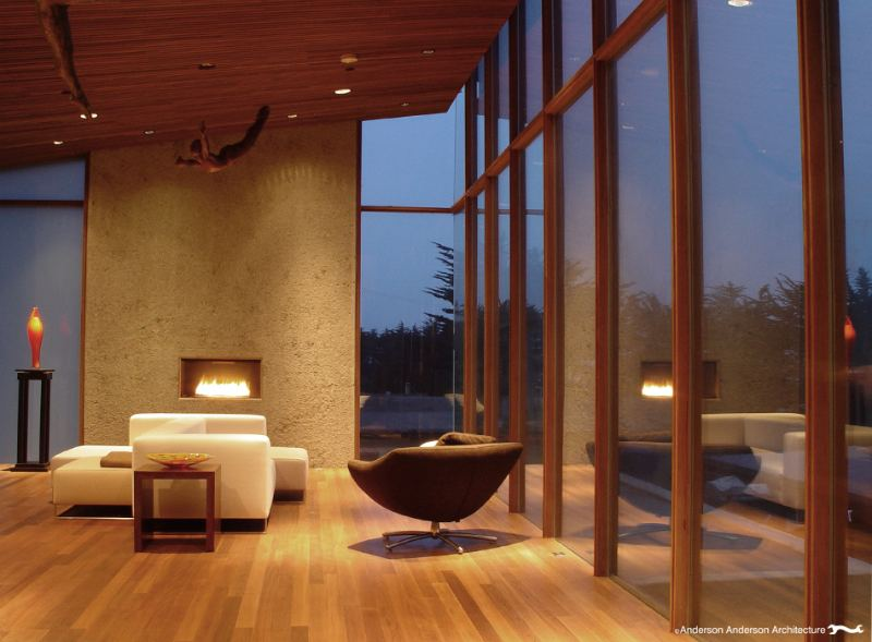 the montara house, anderson anderson architecture, daylighting, concrete house, green building, sustainable architecture