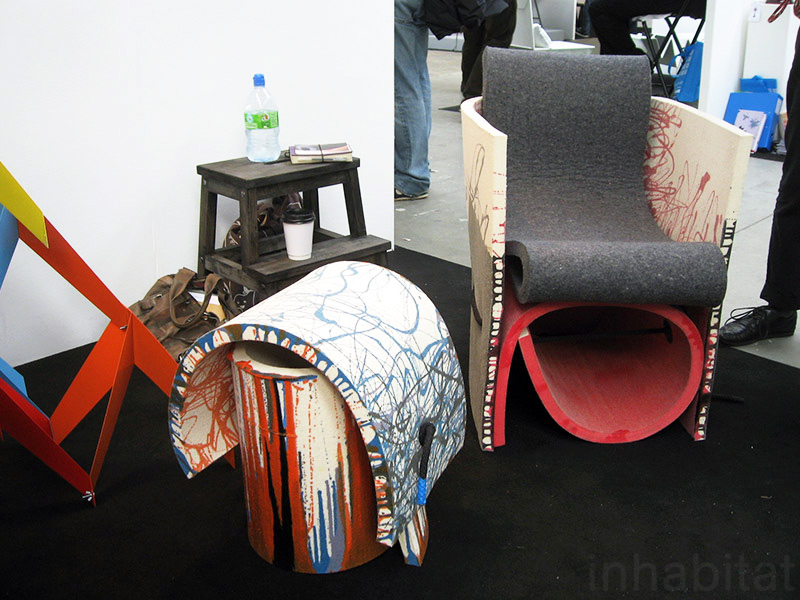Tightly knit the best green designs from tent london 2010 for Rough and ready furniture