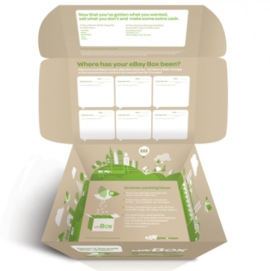 ebay recyclable box, ebay green box, ebay box, ebay green team, ebay green package, ebay green shipping container, ebay cardboard box