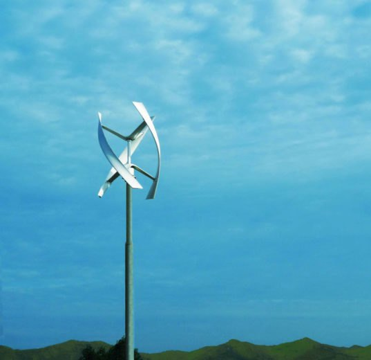 New Wind Turbine Is Silent, Sleek and Designed to Catch City