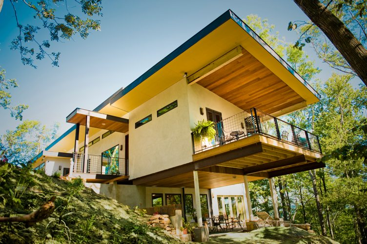 Nation's First Hempcrete House Makes A Healthy Statement | Inhabitat on conceptual design statement, engineering design statement, interior design statement, graphic design statement,
