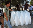 Cardborigami Unfolds Into a Portable Housing Shelter