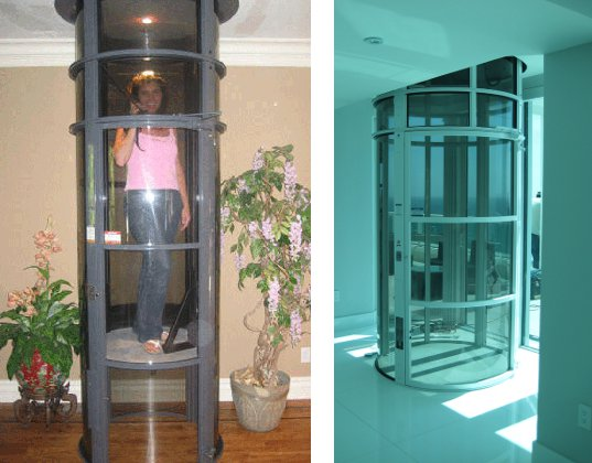 Vacuum elevators offer a greener and cheaper vertical for Elevator home cost