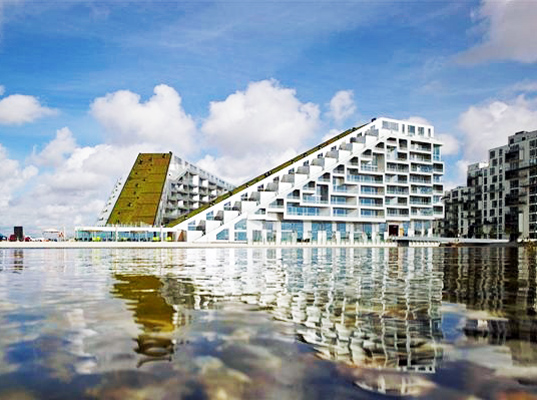8 Tallet Green Roofed Eco Village Opens In Denmark