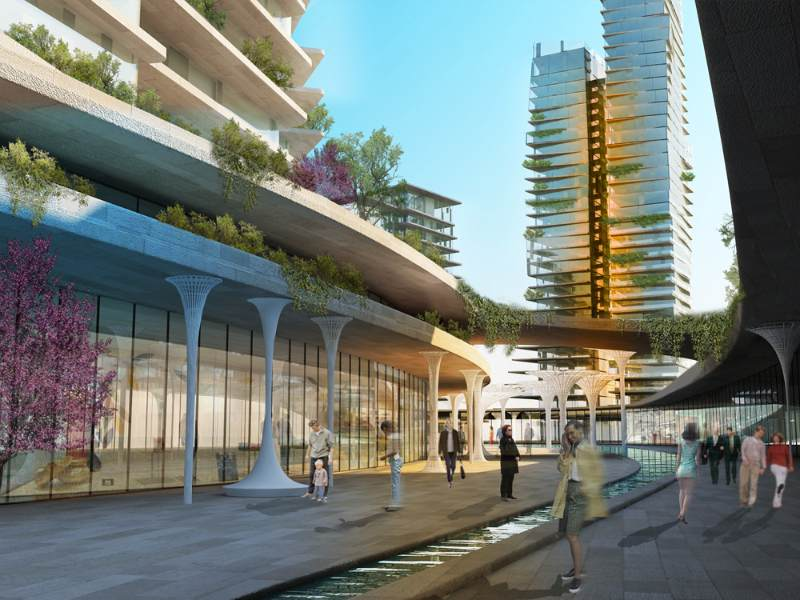 agoras project, istanbul, global architectural development, mixed-use development, green design, sustainable architecture