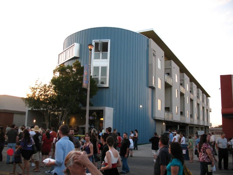 arbor lofts, urban infill, affordable housing, psl architects, artist housing project, green design, sustainable architecture