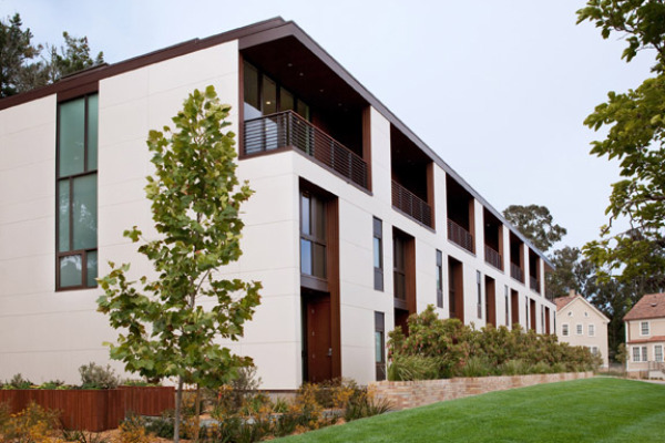belles townhomes, kieran timberlake, livinghomes, presidio, san francisco, modular housing, green design, sustainable architecture