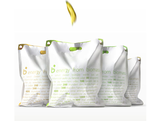 Biomass , renewable energy, Ahhaproject, recycling, bio material, biodegradable trash bags, PLA, green trash bags, non-plastic trash bags, eco friendly trash bags