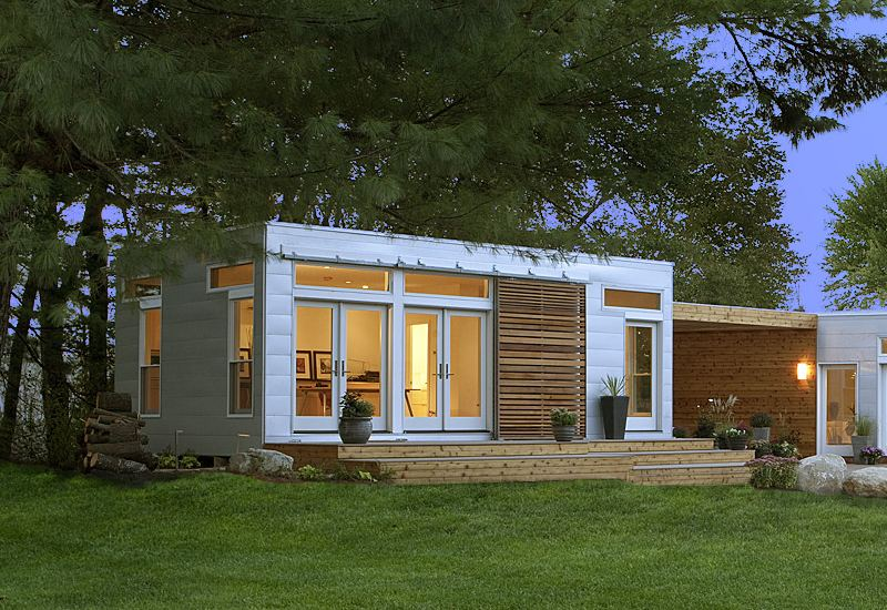 blu homes, prefab home, origins, green building, sustainable architecture, prefab construction