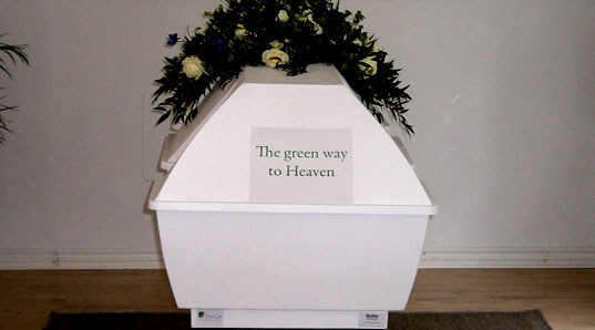 Dancof, Coffine, Biodegradable, Green, Materials, Funeral
