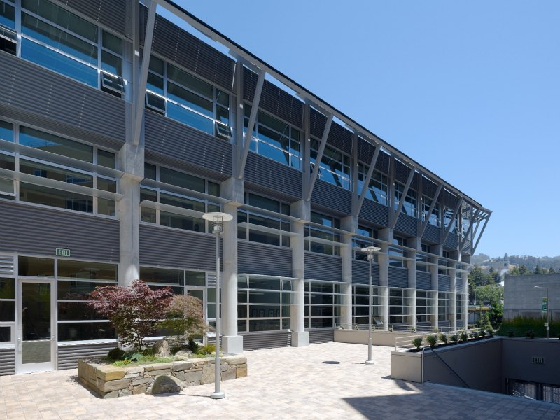 david brower center, berkeley, non-profit community center, leed platinum, green building, sustainable architecture