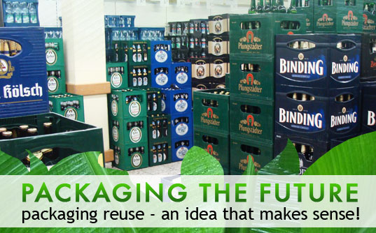 recycled bottles, reusing beer bottles, recycling beer bottles, packaging reuse, reduce, reuse, recycle, sustainable design, green design, packaging the future, packaging reuse, green packaging, recycled materials, beer bottles, recycle reuse reduce