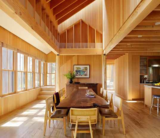 Modern Living Room San Francisco Best Interior Design 12: Lake Tahoe House Takes Little Away From The Environment