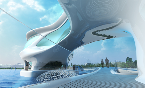 marine research center, bali, tsunami research, net zero, green design, sustainable architecture, solus4