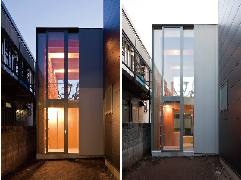 """Ultra-Compact """"Near House"""" is a Small Space Marvel in ..."""