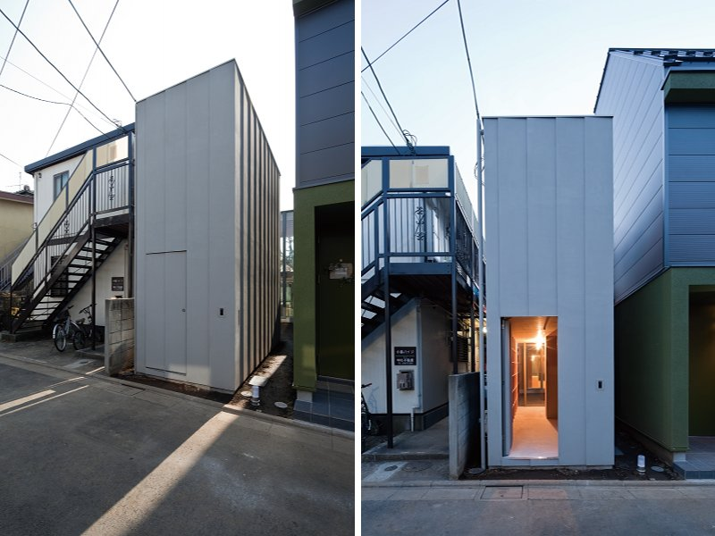 Ultra Compact Near House is a Small Space Marvel in Japan