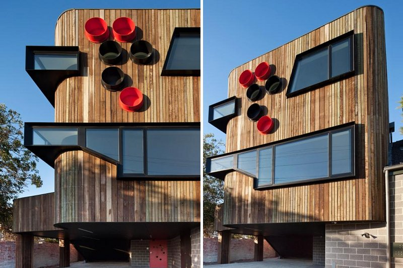 ormond esplande residence, judd lysenko architects, melbourne, eco residence, green building, sustainable architecture