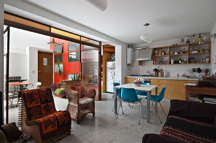 green renovation, green addition, green design, sustainable architecture, buenos aires, pop-arq, recycled materials