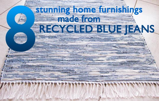7 Recycled Denim Designs For The Home Inhabitat Green