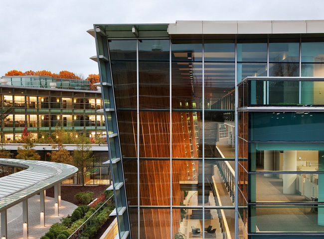 sap america, fxfowle, sap headquarters, green roof, leed platinum, green design, sustainable architecture