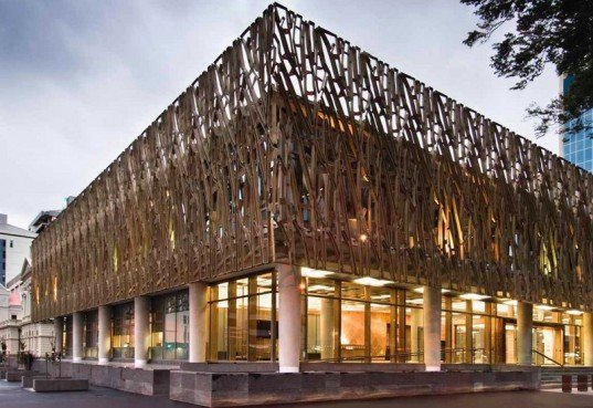 New Zealand S Eco Supreme Court Building Lays Down The Law
