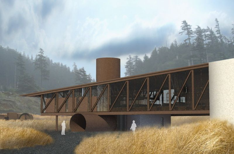 t bailey, wind turbines, olson kundig architects, eco office, green design, sustainable architecture