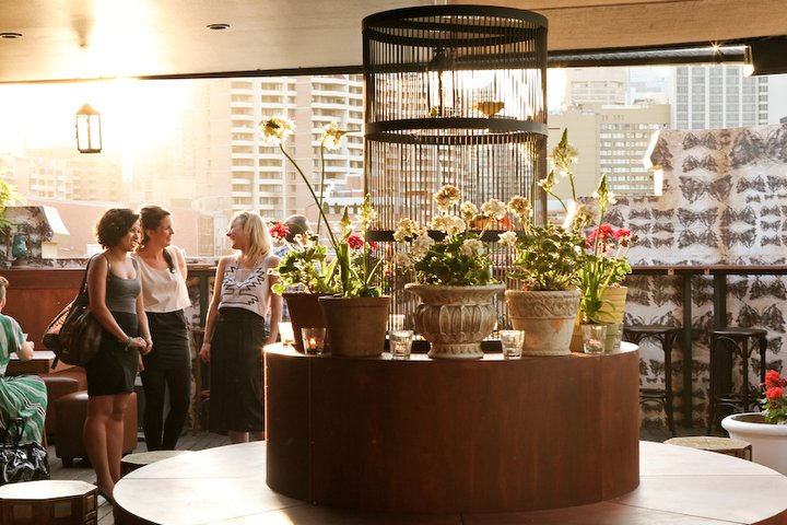 the doghouse, pop up bar, sydney, green interiors, sustainable materials, green design, eco design