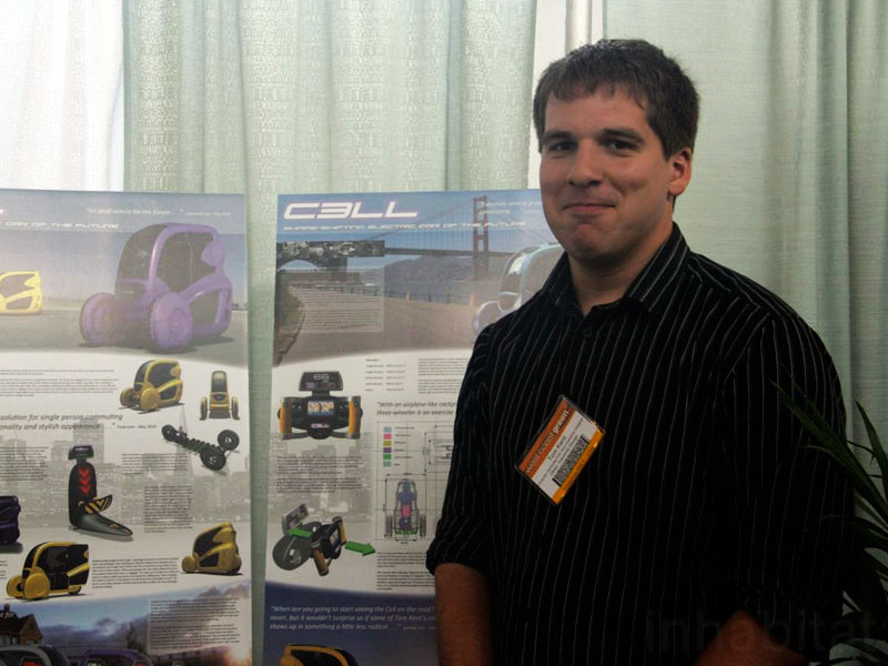 tom kent, cell car, greener transportation, sustainable design, west coast green
