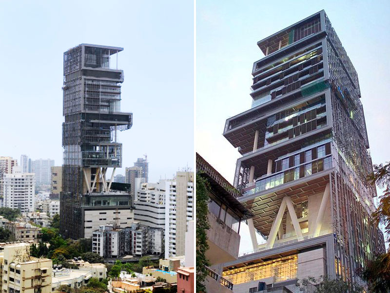 ANTILIA-MUMBAI, INDIA