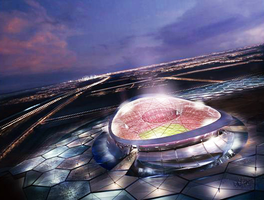 Foster + Partners Unveil Solar World Cup Stadium for Qatar